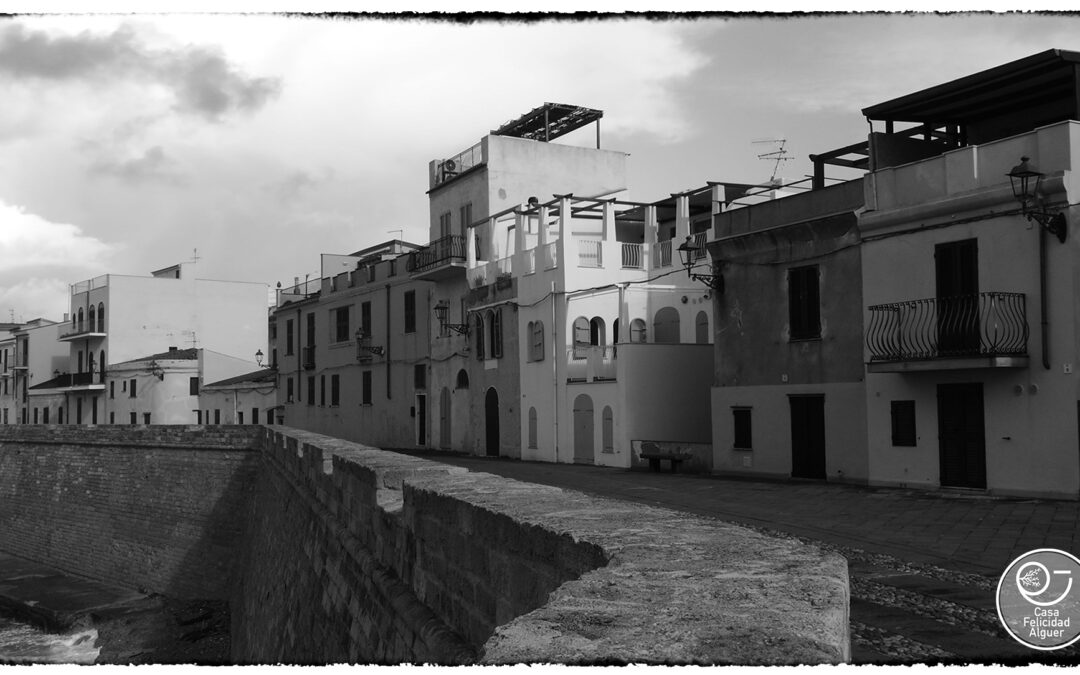 Alghero black and white